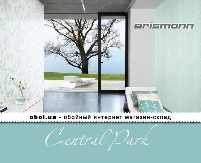 Виниловые обои на флизелиновой основе Erismann Central Park