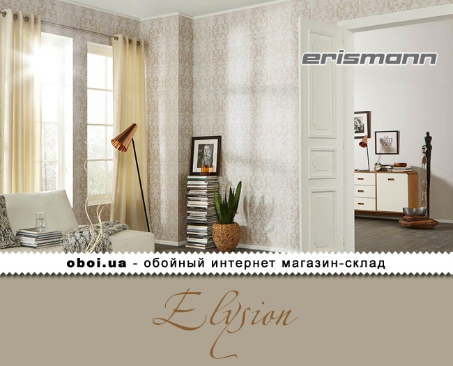 Текстильні шпалери на флізеліновій основі Erismann Elysion