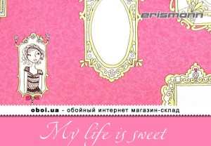 Шпалери Erismann My life is sweet