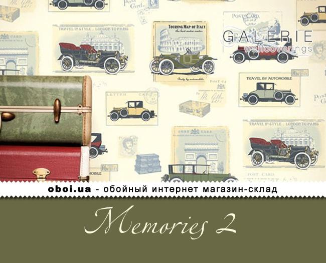 Флізелінові шпалери Galerie Memories 2