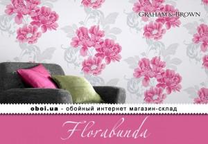 Обои Graham & Brown Florabunda