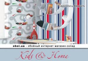 Обои Graham & Brown Kids & Home