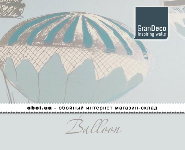 Обои GranDeco Balloon