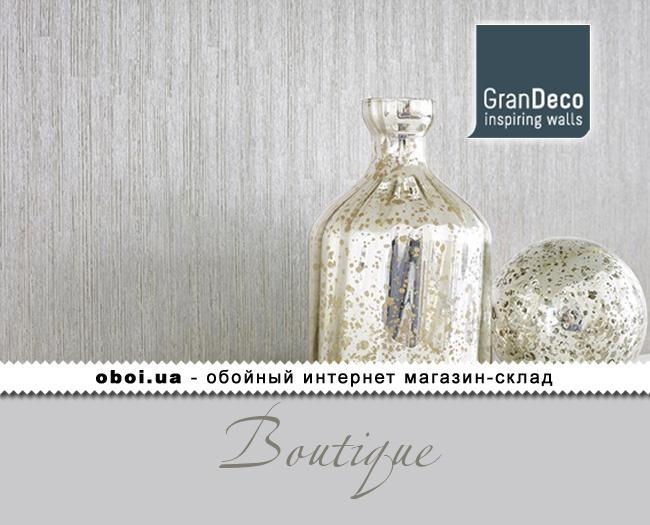 Вінілові шпалери на флізеліновій основі GranDeco Boutique
