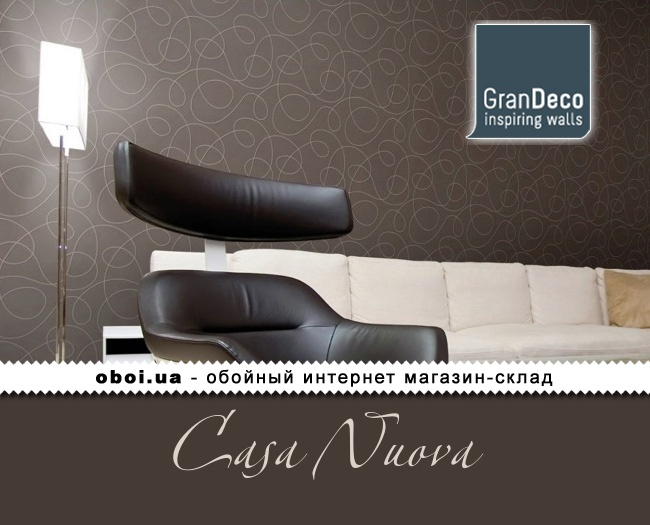 Обои GranDeco Casa Nuova