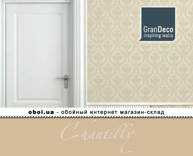 Обои GranDeco Chantilly