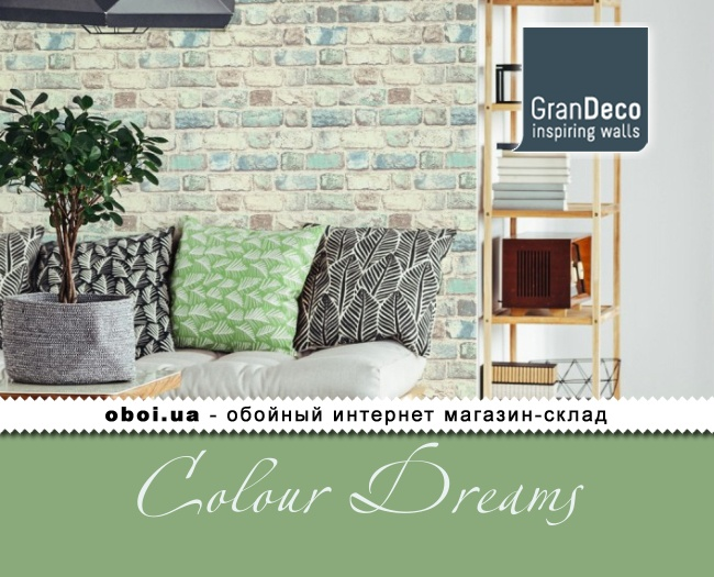 Обои GranDeco Colour Dreams