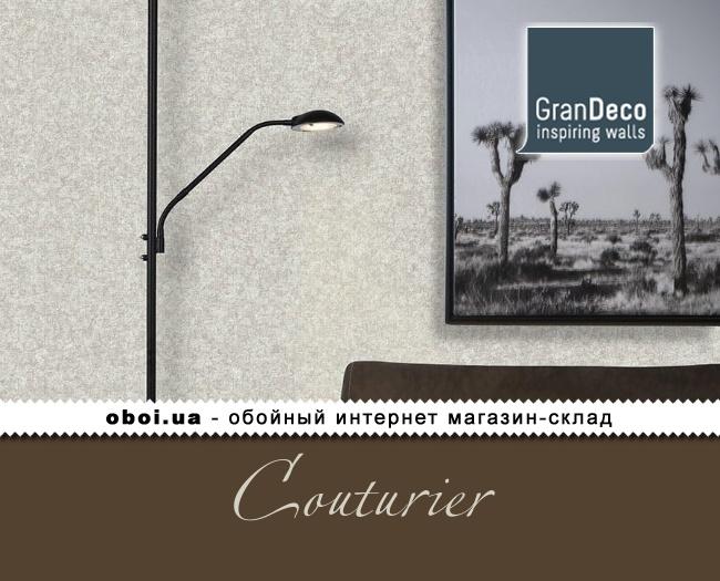 Виниловые обои на флизелиновой основе GranDeco Couturier