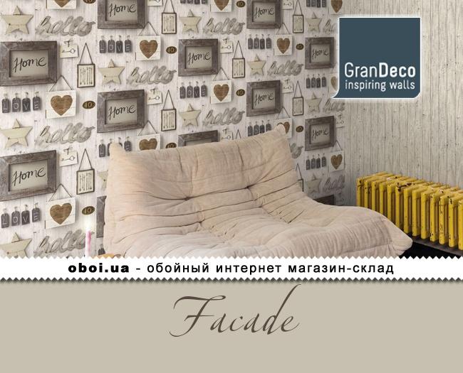 Обои GranDeco Facade
