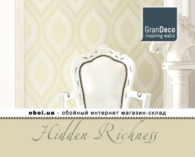 Обои GranDeco Hidden Richness
