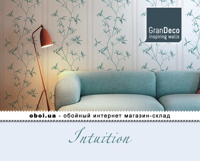 Вінілові шпалери на флізеліновій основі GranDeco Intuition