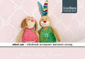 Шпалери GranDeco Jackn Rose Junior