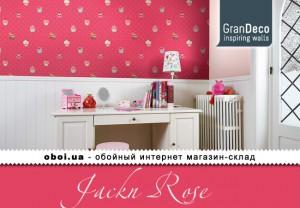 Шпалери GranDeco Jackn Rose