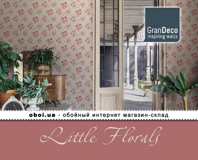 Обои GranDeco Little Florals