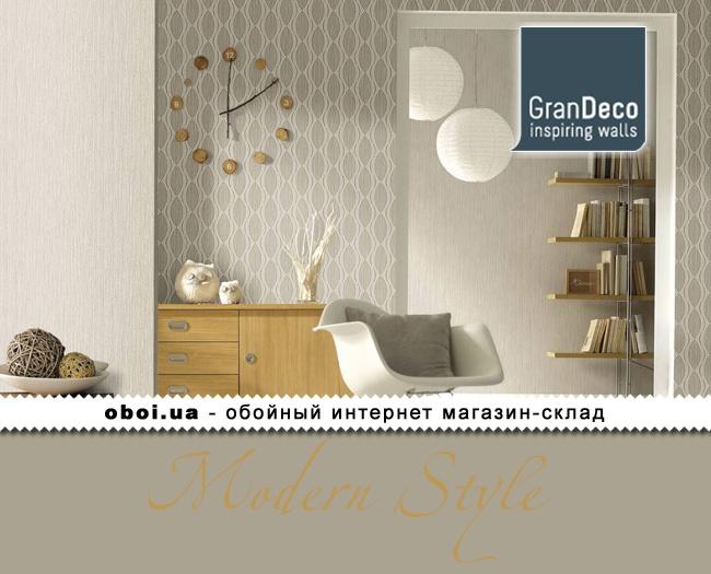 Обои GranDeco Modern Style