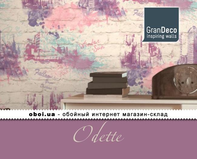 Обои GranDeco Odette