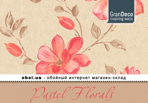 Інтер'єри GranDeco Pastel Florals