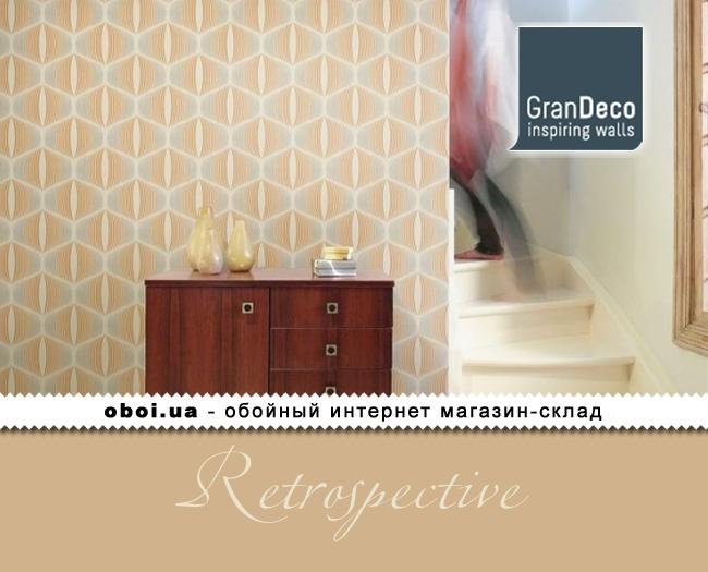 Обои GranDeco Retrospective