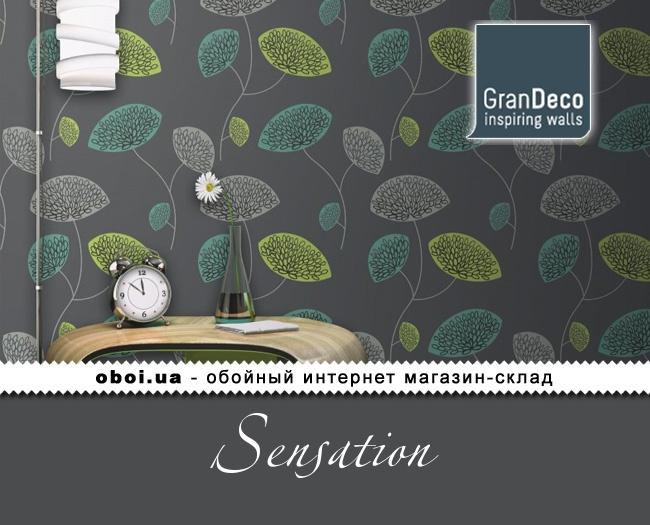 Обои GranDeco Sensation