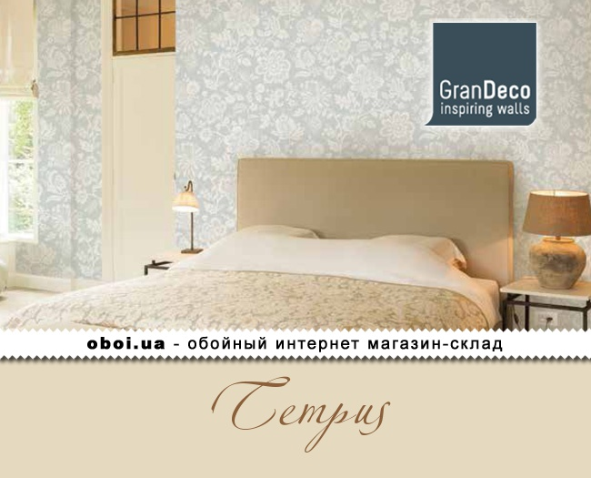 Вінілові шпалери на флізеліновій основі GranDeco Tempus