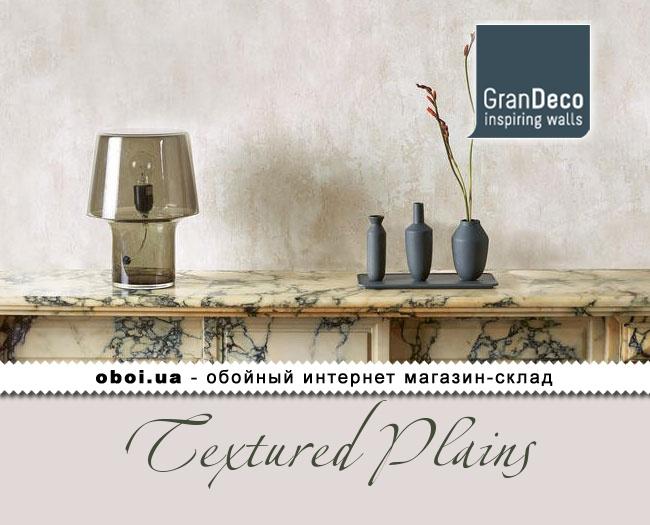 Вінілові шпалери на флізеліновій основі GranDeco Textured Plains
