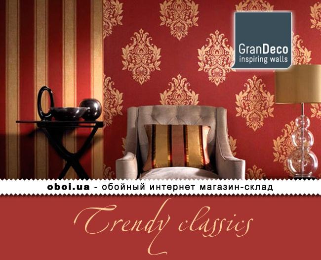 Обои GranDeco Trendy Classics