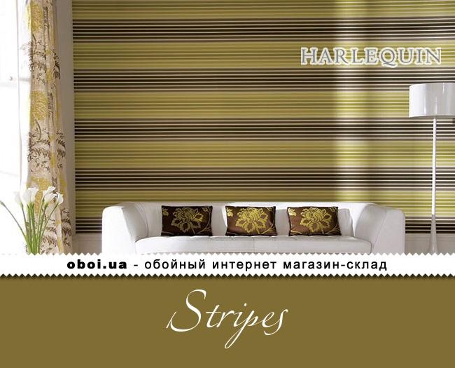 Бумажные обои Harlequin Stripes