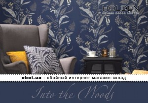 Шпалери Holden Decor Into the Woods