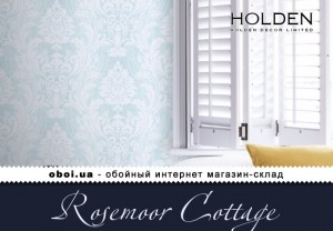Шпалери Holden Decor Rosemoor Cottage