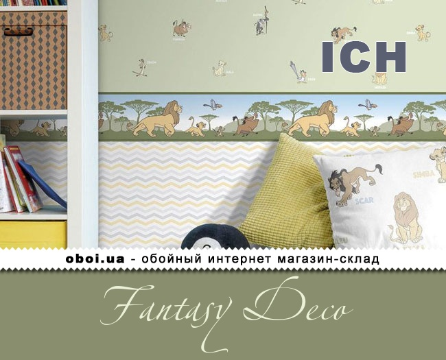 Паперові шпалери ICH Fantasy Deco