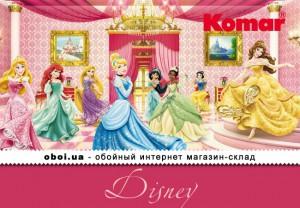 Интерьеры Komar Disney