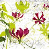 Обои Komar Flower & Textures 8-899