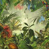 Обои Komar Flower & Textures xxl4-031