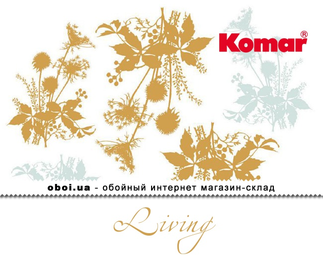 Обои Komar Living