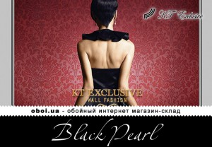 Шпалери KT Exclusive Black Pearl