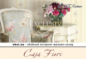 Обои KT Exclusive Casa Fiori