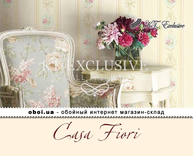 Бумажные обои с акриловым покрытием KT Exclusive Casa Fiori