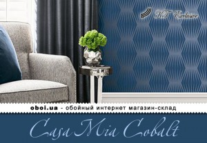 Обои KT Exclusive Casa Mia Cobalt