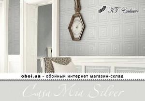 Обои KT Exclusive Casa Mia Silver