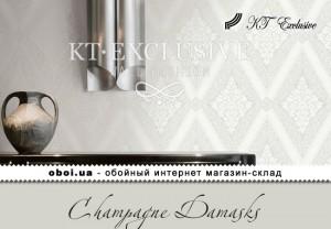Обои KT Exclusive Champagne Damasks
