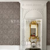 Интерьер KT Exclusive Champagne Damasks ad50007