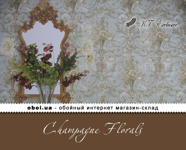 Обои KT Exclusive Champagne Florals
