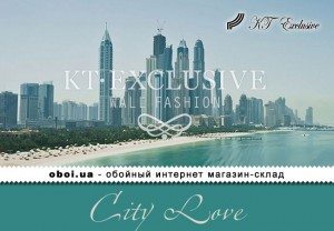 Шпалери KT Exclusive City Love