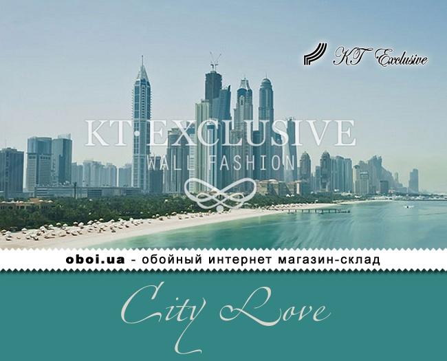 Фотошпалери на флізеліновій основі KT Exclusive City Love