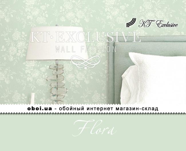 Паперові шпалери з акриловим покриттям KT Exclusive Flora