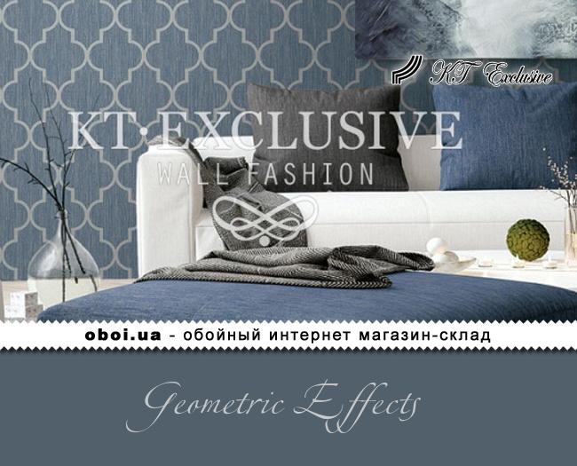 Паперові шпалери з акриловим покриттям KT Exclusive Geometric Effects