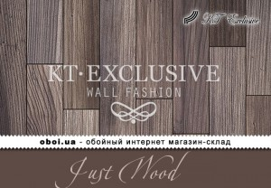 Шпалери KT Exclusive Just Wood