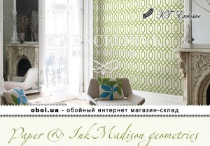 Шпалери KT Exclusive Paper & Ink Madison geometrics
