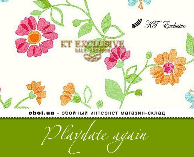 Паперові шпалери з вініловим покриттям KT Exclusive Playdate again