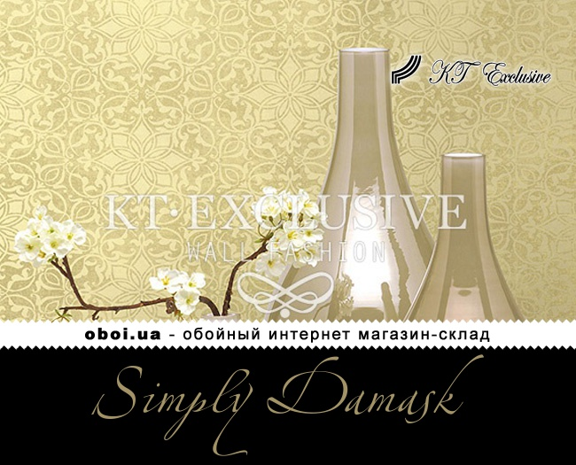 Обои KT Exclusive Simply Damask